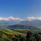 尼泊尔自助游记: (8) 坐巴士上博卡拉