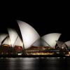 『组图』 缤纷绮丽的悉尼歌剧院夜景