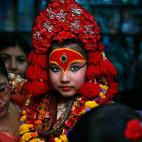 尼泊尔自助游记: (5)见到活女神