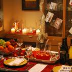 满心感激的圣诞饕餮大餐