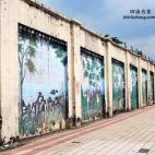世界最长壁画被拆下了